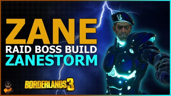 Zane - Zanestorm - Build by Triple G - Borderlands 3