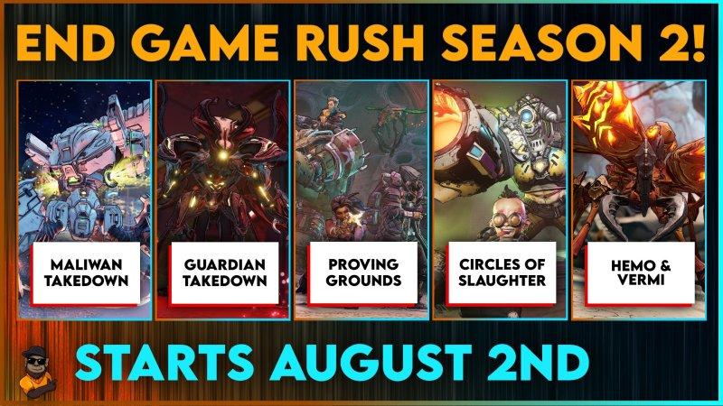 End Game Rush Season 2 by Triple G