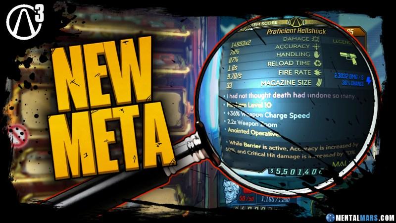 Borderlands 3 New Anointment Meta