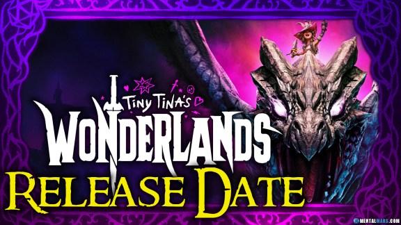 Tiny Tina's Wonderlands Release Date