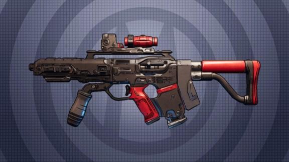 Borderlands 3 Legendary SMG - Crader's EM-P5