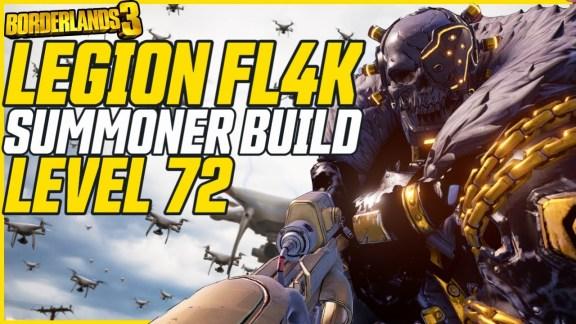 FL4K 'Legion 2 Build' - Borderlands 3