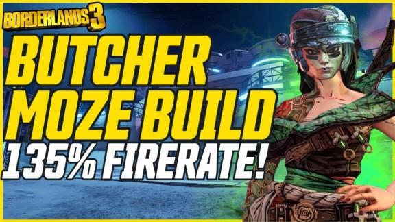 Moze 'Butcher' Build - Borderlands 3