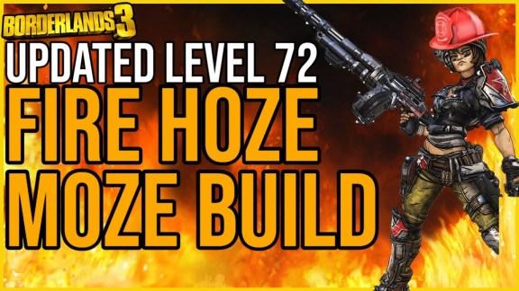 Moze 'Fire Hoze Moze Build' - Borderlands 3