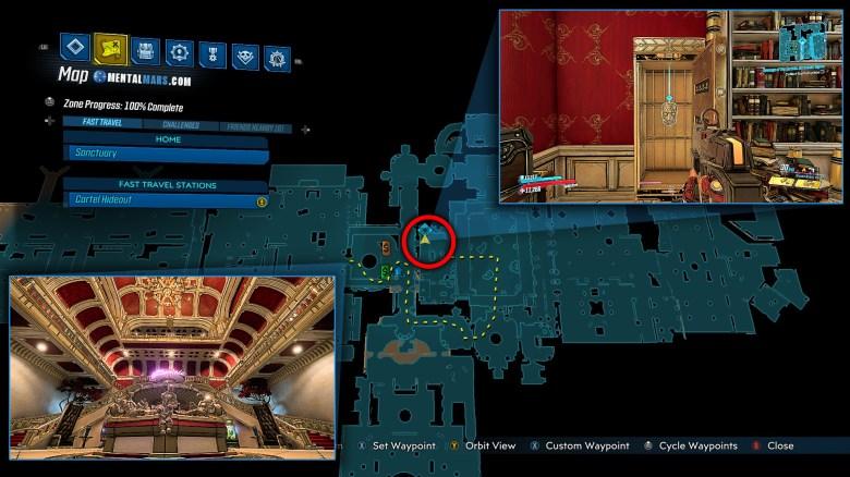 Revenge of the Cartels Access Room - Borderlands 3