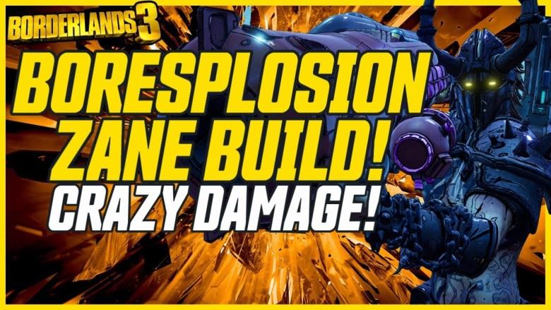 Zane 'Boresplosion' Build - Borderlands 3
