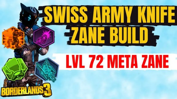 Zane 'Swiss Army Knife' Build - Borderlands 3