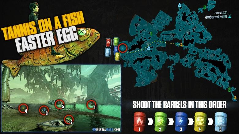 Borderlands 3 'Tannis on a Fish' Easter Egg Guide