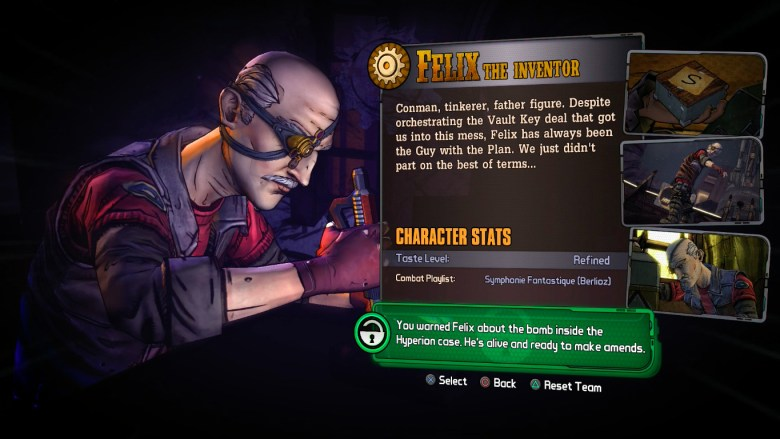How to unlock Felix in Tales From the Borderlands