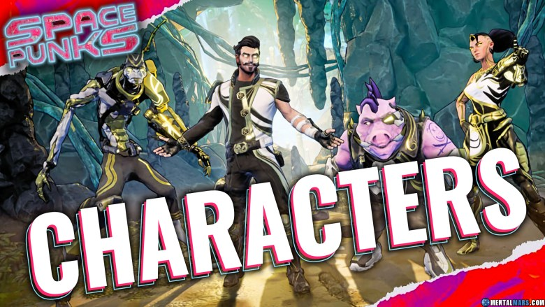 Space Punks Playable Characters