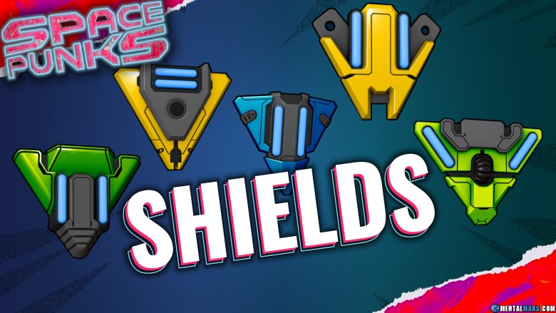 Space Punks Melee Shields Overview