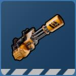Space Punks Ranged Weapon - Minigun
