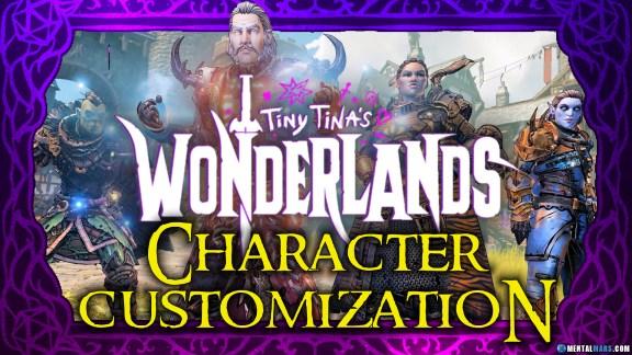Tiny Tina's Wonderlands Character Customization
