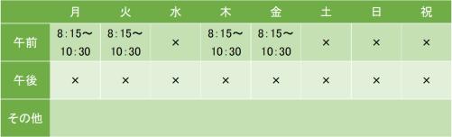 関東労災病院の診療時間