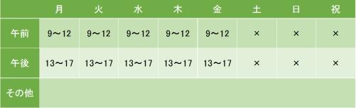 東京逓信病院の診療時間