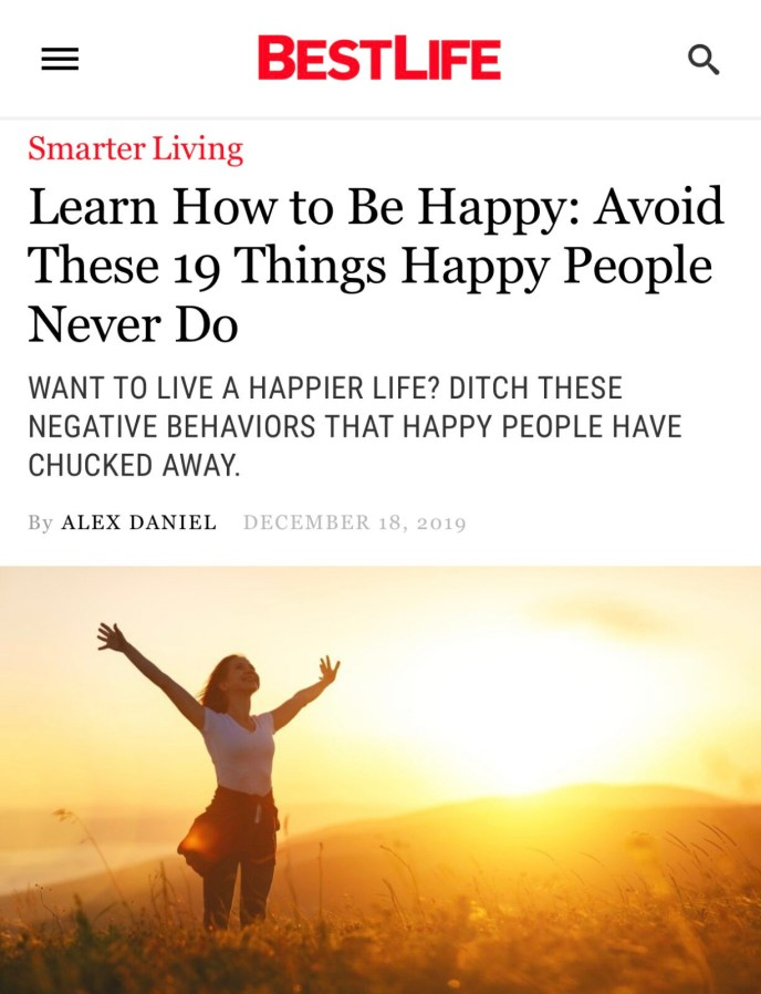 Things mentally tough people avoid to be happy.
