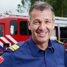 """Stephan Wevers, voorzitter Brandweer Nederland: """"De vuurwerkramp in Enschede, dat was een rollercoaster op het gebied van leiderschap""""."""