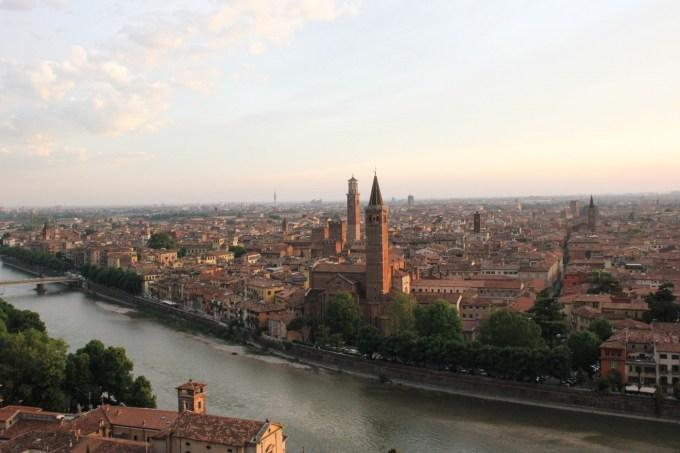Verona da Castel San Pietro