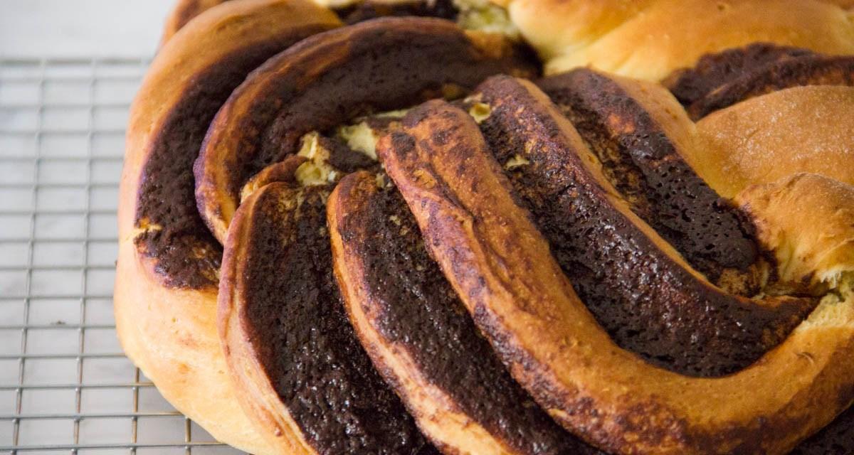 Babka al cioccolato: un lievitato che viene da lontano