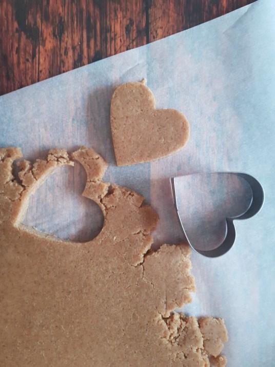 biscotti vegan al farro, castagne da infornare
