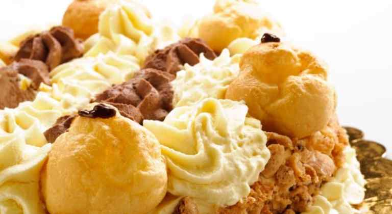 Crema Chiboust per torta Saint Honoré