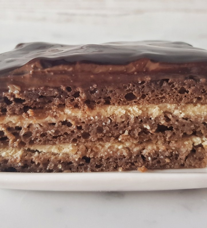 Torta Opera, ricetta Fables de Sucre