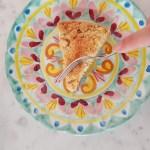 Sbriciolata al pistacchio, ricotta e gocce di cioccolato: la torta Sonia