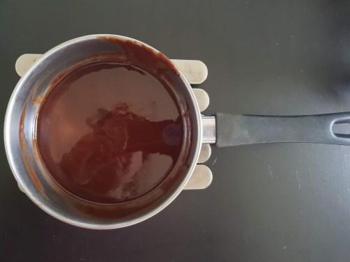 Burro e cioccolato fusi