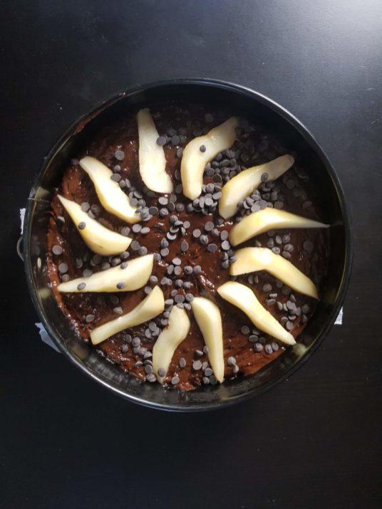 torta-pere-cioccolato-fondente
