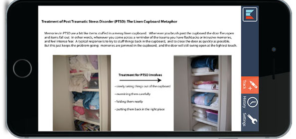 Treatment of Post Traumatic Stress Disorder (PTSD) The Linen Cupboard Metaphor