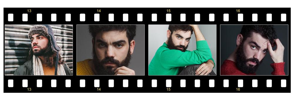Natural de La Mancha y con 18 años, Alberto Novillo comienza sus estudios en la Real Escuela Superior de Arte Dramático de Madrid.