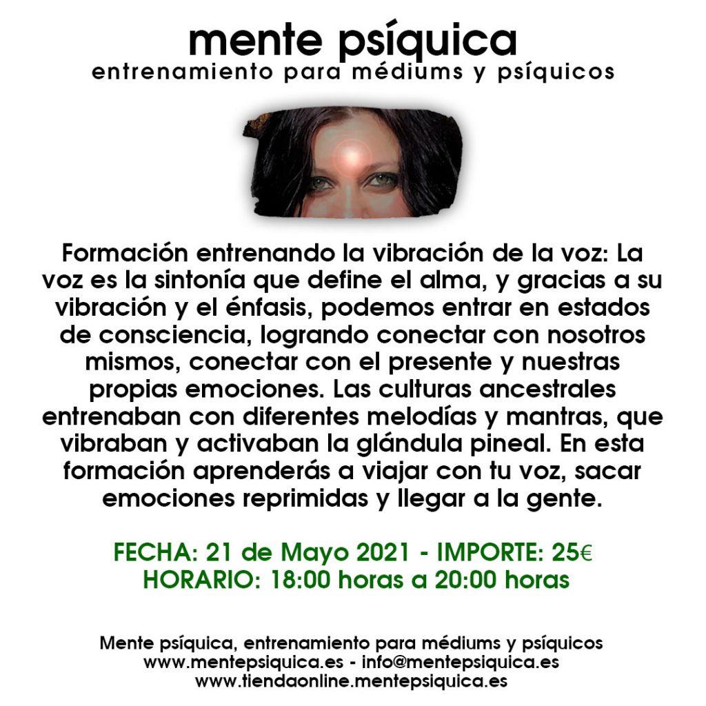 Mente Psíquica, entrenamiento para médiums y psíquicos