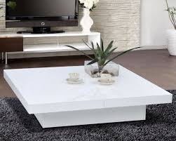 10 ideas of white coffee table modern high quality