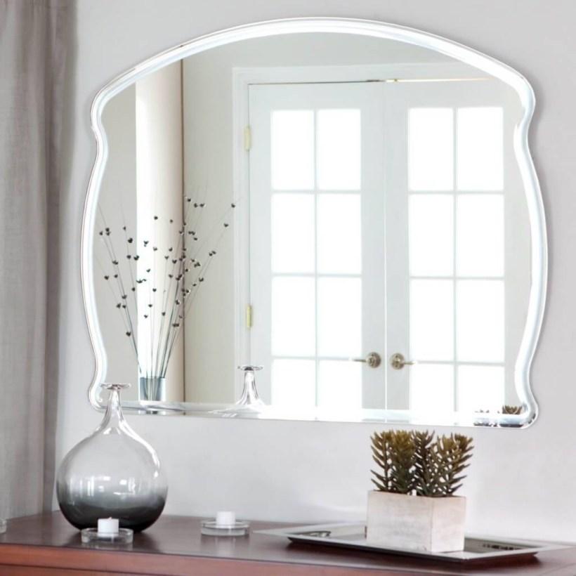 Large Frameless Wall Mirror Allcanwear