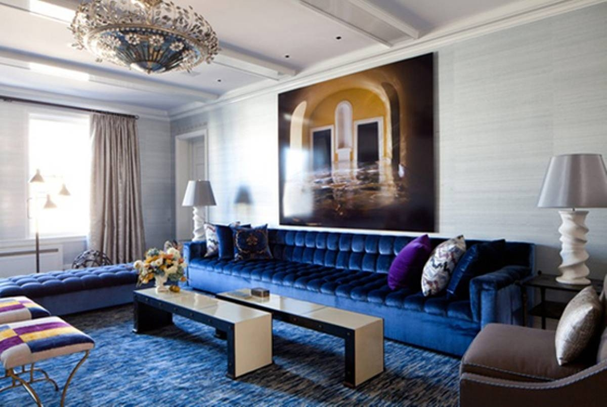 blue sofa living room ideas | home design inspirations