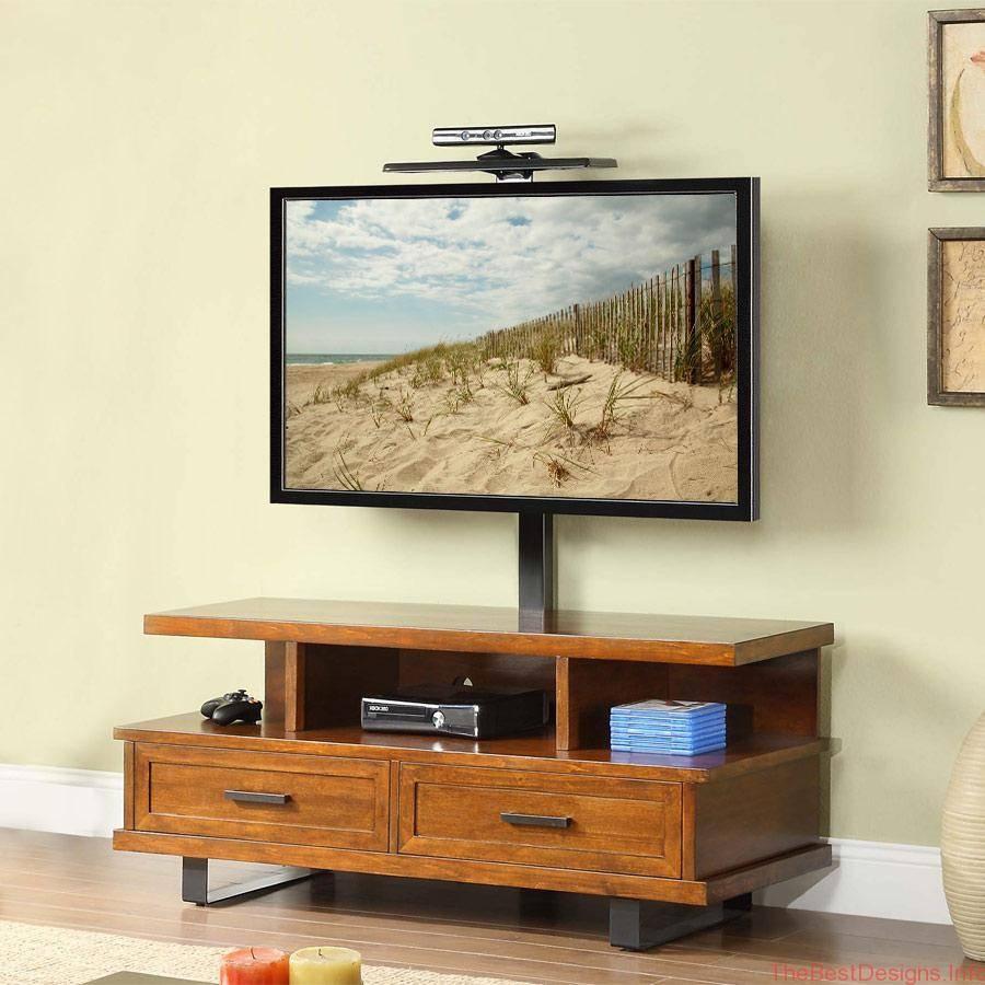 Sauder Harvest Mill Corner Tv Stand