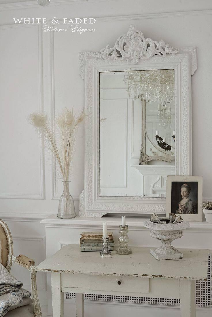 2019 Best Of Large White Shabby Chic Mirrors