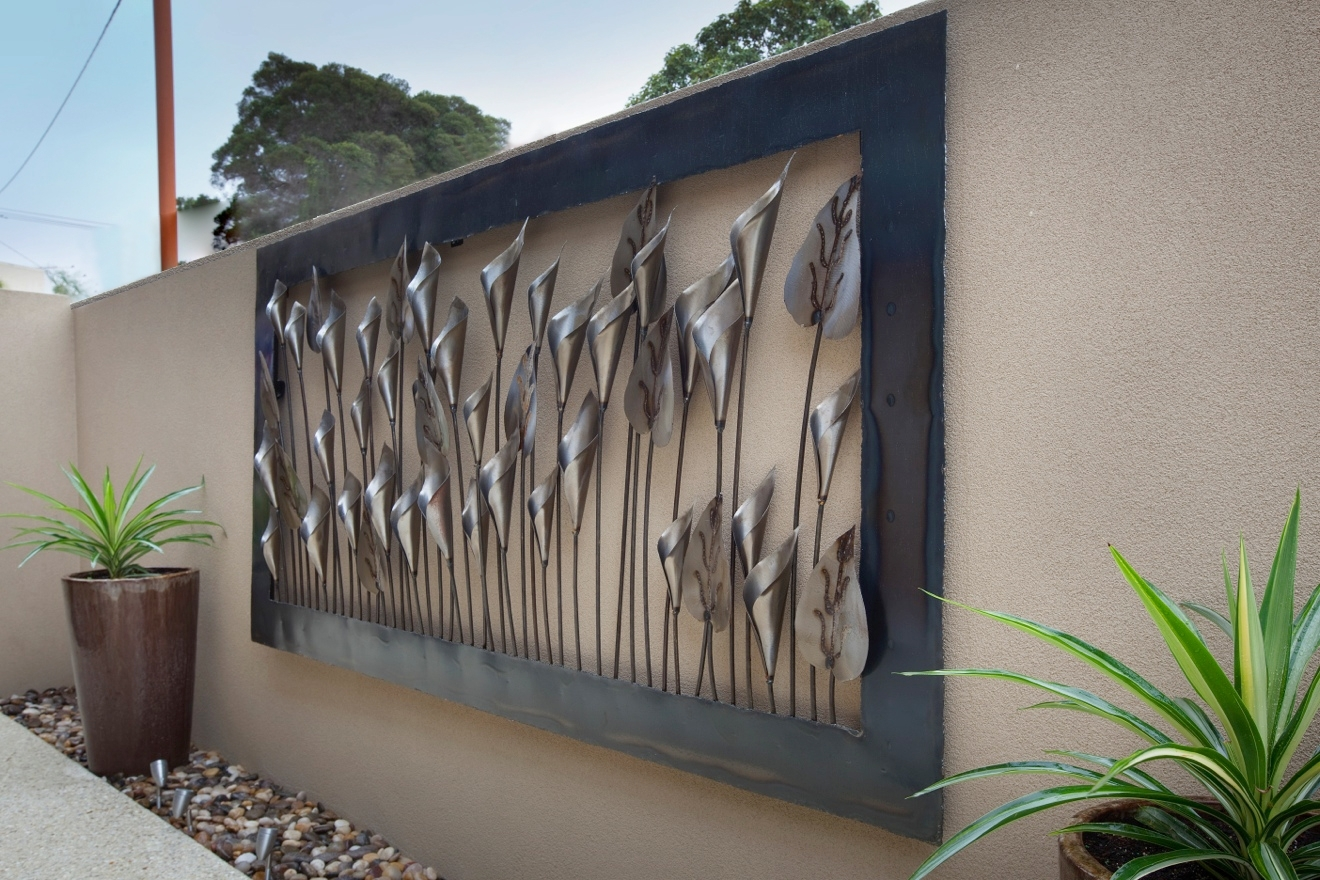 2019 Latest Metal Outdoor Wall Art
