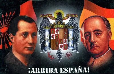 Image result for franco y jose antonio primo de rivera
