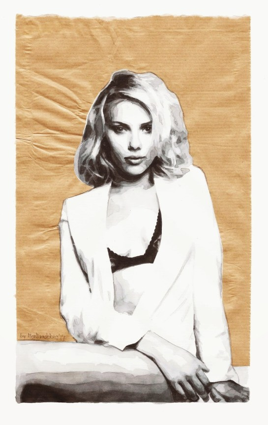 Don't confuse it with love (Portrait of Scarlett Johansson)