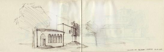 Fragmento de la Iglesia del Salvador (Segovia)