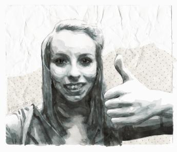 I like U (Self-portrait)
