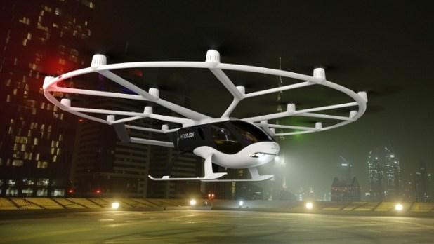 Volocopter Commercial Autonomous Flying Taxi! VoloCity | MENTITUDE