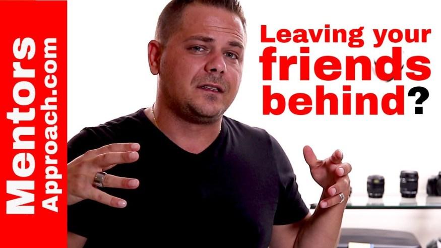 Feeling Guilty When We Leave Friends Behind