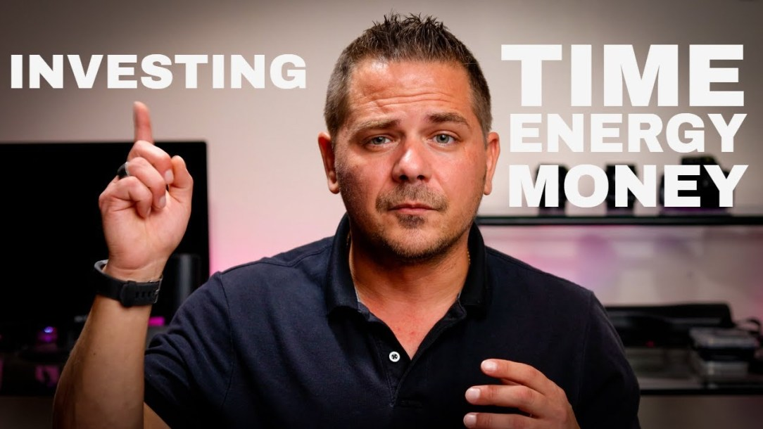 Time, Energy and Money. Investing it the Right Way for Success