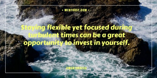 Staying focused in turbulent times April 2018