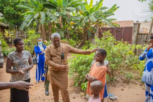 Marksman Chinedu Ijiomah - a good samaritan saw the viral video and sincerely took it upon himself to sponsor