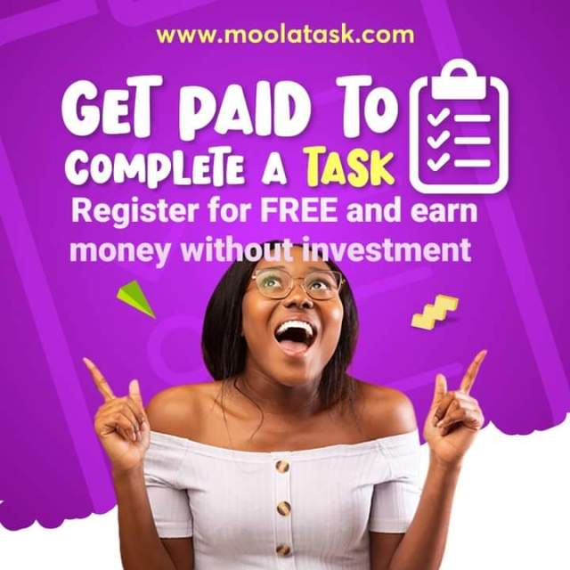 MoolaTask: About | How To Register | Participate On Task