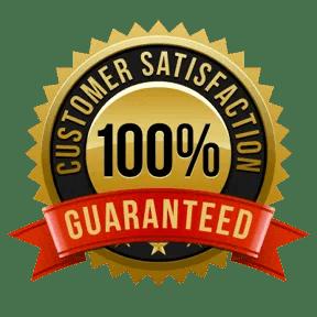 100% Satifaction Guaranteed-Seal