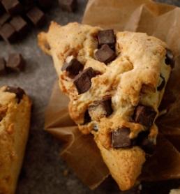 スタバのフード「アメリカンスコーン チョコレートチャンク」